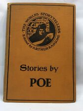 The World's Storytellers Stories by Poe 1908 Dutton First Edition Arthur Ransome