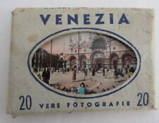 Vintage VENEZIA (Venice) Italy Souvenir Photo Pack of 20 Color Photgraphs