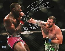 Ryan Bader Signed 11x14 Photo BAS COA UFC on Fox 14 v I Beat Phil Davis Bellator