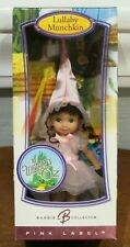 "New Barbie Pink Label ""Wizard Of Oz Lullaby Munchkin"" Rare Kelly Doll - Nrfb"