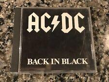 AC/DC Back In Black Cd. Early Atlantic Pressing !!!