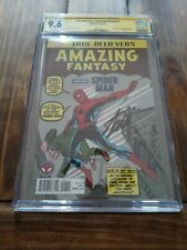 True Believers Amazing Fantasy #15 CGC 9.6 SS STAN LEE First SPIDER-MAN Reprint