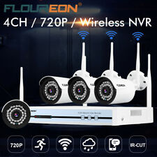 Wireless Home Security System WIFI 4CH 720P CCTV IP Camera 1080P NVR Outdoor