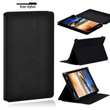 Black Folio Leather Tablet Stand Protective Cover Case For Lenovo Tab 2 3 4 +pen