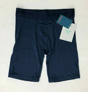 """NEW Mens Tommy John Second Skin Boxer Brief~SMALL 28-30""""~Dress Blues"""