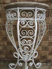 Victorian antique ornate metal plant stand estate find