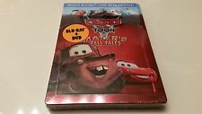Disney's Cars Toon Mater's Tall Tales Embossed STEELBOOK (Blu-ray, Mexico) G1