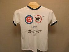 Vintage 1984 Chicago Cubs MLB National League Championship Ringer T Shirt XL