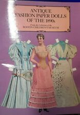 Antique Fashion Paper Dolls of the 1890s  *Dover Victorian Paper Dolls  1984