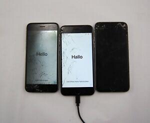 Lot of 4 Apple iPhone 6 32GB A1549 Verizon CDMA GSM Smartphone Silver READ