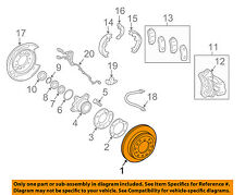 TOYOTA OEM Rear Brake-Rotor 4243160311