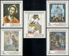 Czechoslovakia 1991 Art/Paintings/Artists/Abstract/Old Masters 5v set (n39413h)