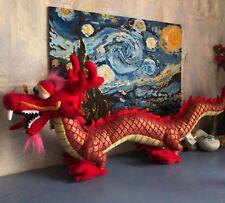 Port Aventura plush Chinese dragon 65 cm long official