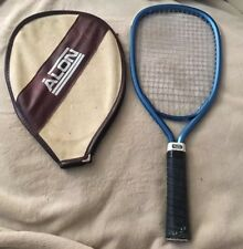 Trenway Racquetball Racket Blue Trim & Net & Black Handle With Alon Zip Cover