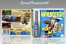 "BOITIER DU JEU "" LUCKY LUKE WANTED! "", GAME BOY ADVANCE, FR. SANS LE JEU."