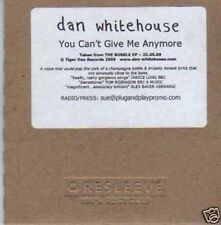 (266I) Dan Whitehouse, You Can't Give Me Anymore- DJ CD