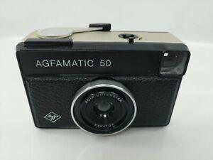 AGFA AGFAMATIC 50 INSTAMATIC CARTRIDGE CAMERA - BLACK - #609