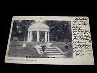 Vintage Postcard, ARLINGTON, VIRGINIA, VA, Memorial Garden, To Breslau,Germany