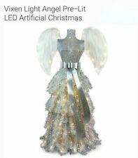 Christmas Tree Pre-Lit Angel Wing Dress Stunning