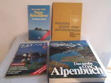 4 Bücher - 3x ADAC Reise  Nordeutschland, Alpen, Atlas + Bodensee Magazin  /S80