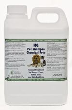 KG Wash & Go Pet Shampoo 2000ml Treats Mange, Fleas, Ticks, Mites & Itchy Skin