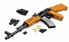 Costruzione Mattone Blocco AK47 Machine Gun ARMA-COMPATIBILE