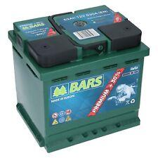BARS PREMIUM 12V 53Ah 530 A EN Starterbatterie WARTUNGSFREI TOP ANGEBOT NEU