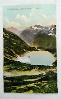 Divided back era postcard 1907-1915 Doubtful Lake, Washington St--Printed German