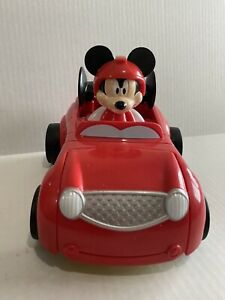 Disney Mickey Mouse Roadster Racers Transforming Hot Rod Lights Sound Car
