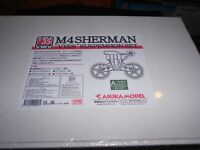 ASUKA 35-007 1/35 M4 SHERMAN VVSS SUSPENSION SET (A) EARLY PLASTIC MODEL KIT