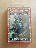 Games Workshop Warhammer Wood Elves Battle Magic Cards Elf BNIB New Fantasy GW