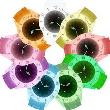 Silikon Armbanduhr Sportuhr Quarz Uhr Glow in the Dark Neon im Dunkeln leuchtend