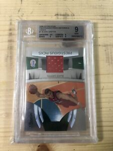 2009 Prestigious Picks Blake Griffin Rookie Patch BGS 9 NM 78/100