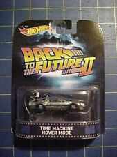 1/64 HOT WHEELS RETRO ENTERTAINMENT BACK TO THE FUTURE 2 TIME MACHINE HOVER MODE