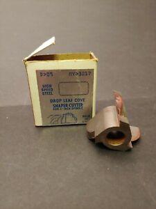 Sears Craftsman 9-3017 Drop Leaf Cove Shaper Cutter 1/2 inch spindle