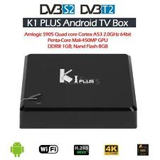K1 Plus +T2 S2 Android 5.1 S905 Quad core 8GB Tv Box DVB-S2 DVB-T2 1080P 4K V3M0