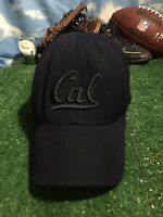 Cal California bears fitted zephyr hat 7 3/8 worn Hat Cap H23