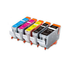 5 PK Printer Ink + Chip for Canon PGI-5BK CLI-8 MP530 MP800 MP830 FAST SHIP