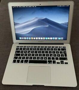"Apple MacBook Air 13.3"" (128GB SSD, Intel Core i5 5. Gen 1.8GHz, 8GB) Silber Top"