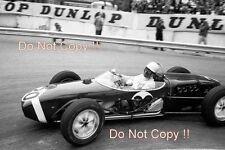 Stirling Moss Lotus 18 Winner Monaco Grand Prix 1961 Photograph 1