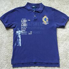 RALPH LAUREN Men's Vintage Rugby Cricket Polo Shirt #5 Size Small/Medium