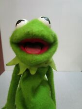 Vintage 1976 Fisher Price Jim Henson Muppets Kermit The Frog Hand Puppet #860