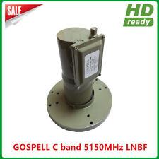 Digital Ready PLL type C band single output dual polarity LNB for satellite TV