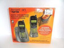 American Telecom Pay N' Talk 2 Digital  Cordless Phones set + Bases and Handsets