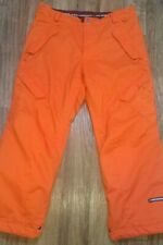 Ride Outwear Division Insulated Orangwe Snowboard Pants Men's Size XL