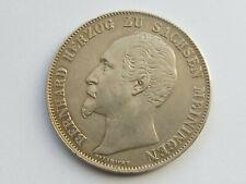 L2133    SACHSEN MEININGEN 2,- Gulden 1854