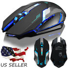 High-End Rechargeable Wireless & Wired Silent LED Backlit USB Gaming Mouse Mice