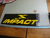 IMPACT GLOSSY DECAL Sticker / Decal  Automotive ORIGINAL
