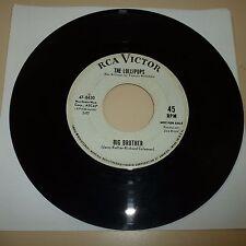 SOUL 45 RPM RECORD - THE LOLLIPOPS - RCA VICTOR 47-8430 - PROMO