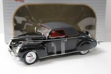 1:18 Signature Models Lincoln Zephyr 1939 black NEW bei PREMIUM-MODELCARS